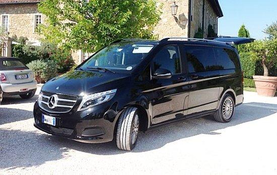 Livorno, Italy: Minivan Mercedes Klass V