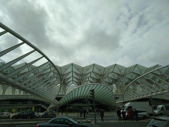 Parque das Nacoes: Estação Oriente
