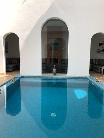 Riad Zyo: pool