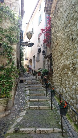 Alley staircase in Saint-Paul de Vence