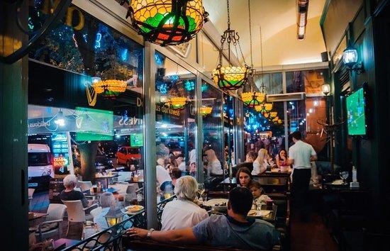 Mick O'Neills IRISH PUB and SPORTS BAR: The terrace, 24 hour sports bar, Odessa!