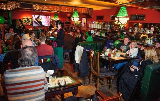 Mick O'Neills IRISH PUB and SPORTS BAR: Another big day at Irish Pub, Odessa