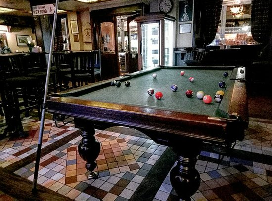 Mick O'Neills IRISH PUB and SPORTS BAR: Pool games at Odessa's number one sports bar!