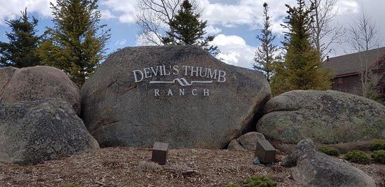 Tabernash, Colorado: Entrance to DTR