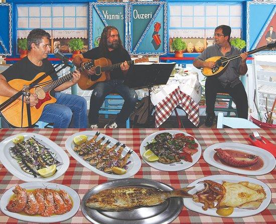 Yianni's Ouzeri : Fresh calamari