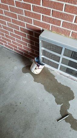York, NE: Outside our room, really tacky