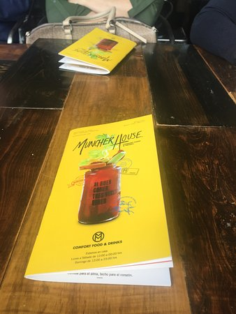 Muncher House : Menú de bebidas
