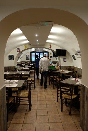 Ristorante Pizzeria Dal Soldino: La sala superioe_1