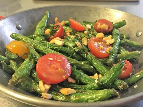 The Nauti Inn Barstro: Locally sourced: Flash Fried Green Beans w/ Asian Mother Sauce