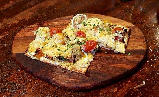 Sardine Can: Flat bread