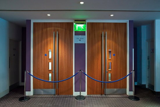 The Capitol, Horsham: Doors to the Main Theatre - Credit Toby Philips