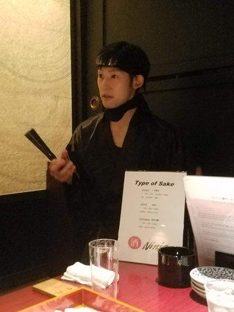 Tavern with private dens Banya Akasaka: Sake Ninja!
