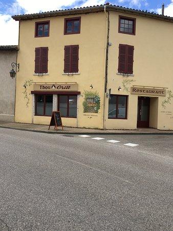 Restaurant Le Thou: Vu extérieur d'y resto