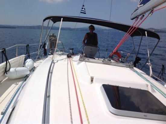 Agia Marina, Grekland: Flottielje Corfu
