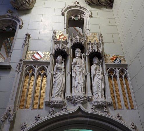 Kasteel de Haar: Main hall decoration