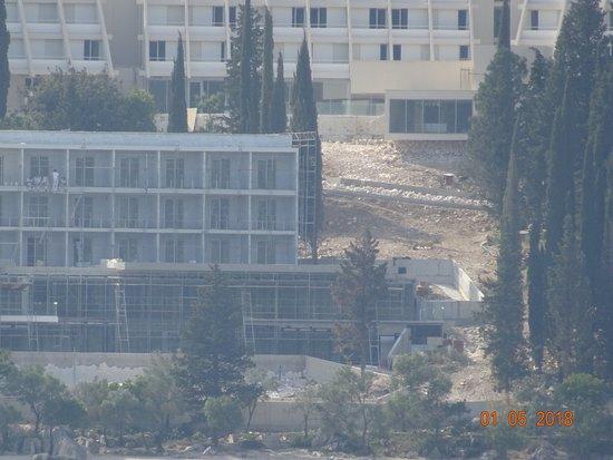 Hotel Osmine: hotel en travaux