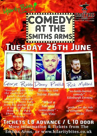 The Smiths Arms : Live Comedy Night