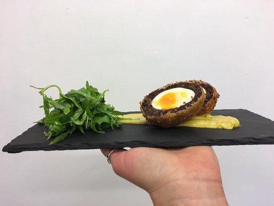 The Smiths Arms : Black Pudding Scotch Egg
