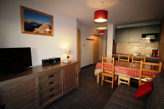 Auris, Frankrike: Appartement 6 personnes - Résidence La Sarenne