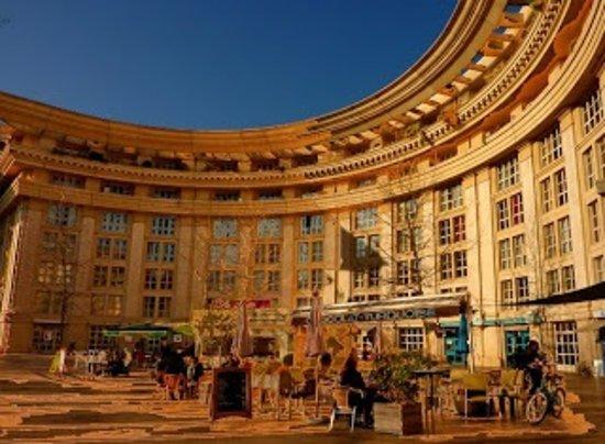 Chocolat Turquoise: Restaurant vu de façon panoramique