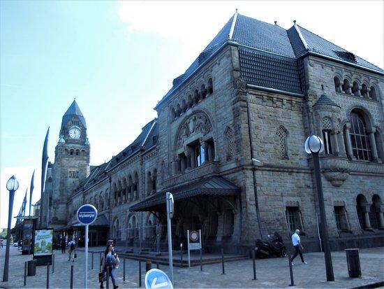Gare de Metz-Ville: Façade