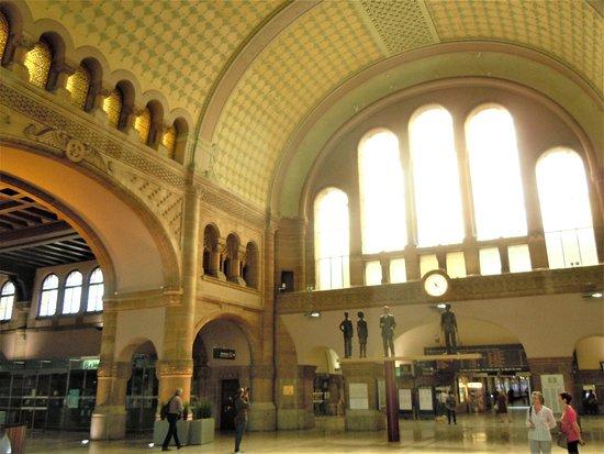 Gare de Metz-Ville: Intérieur hall d'entrée