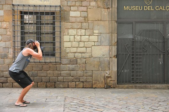 Photo Walking Tours Barcelona, different angles