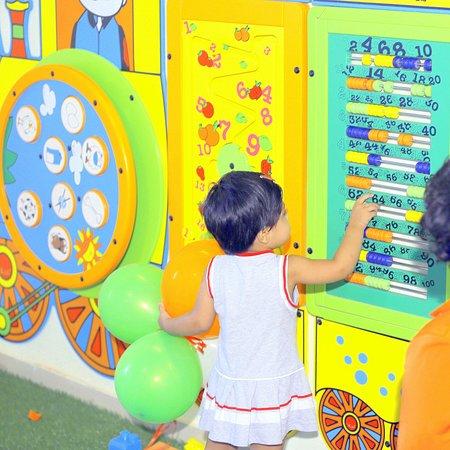 Fun and Learn Kids Zone @ Majama Game Zone, Shahibaugs Biggest Game Zone! Call 09727615012