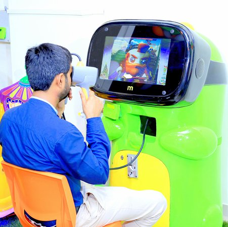 Play Virtual Reality Games @ Majama Game Zone, Shahibaugs Biggest Game Zone! Call 09727615012