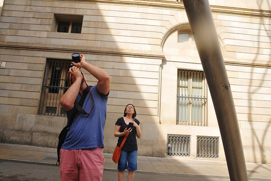 Photo Walking Tours Barcelona, photography and different angles