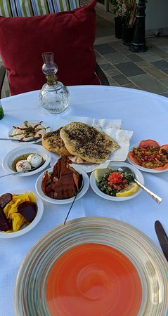 The Marrakech: Lebanese Meze - starters, salads and dips