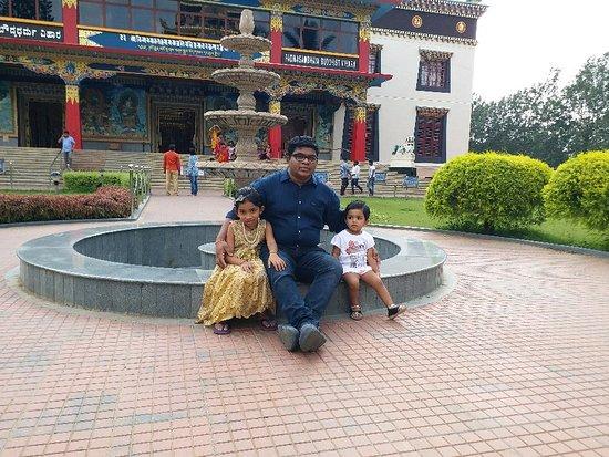 Kushalnagar, India: Peacefull place.