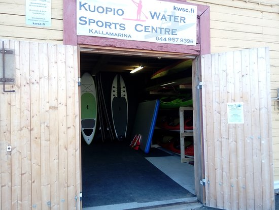 Kuopio Rugby Club members try SUP - Picture of Kuopio Water Sports ... dec0cd6ec2