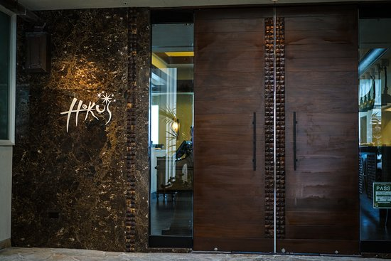 The recently renovated entrance to Hoku's