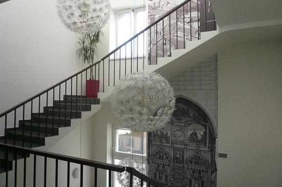 Hotel Palac: l'interno