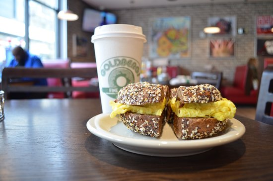 Goldbergs Fine Foods: Breakfast Bagel