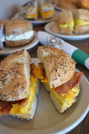 Goldbergs Fine Foods: Breakfast Bagels