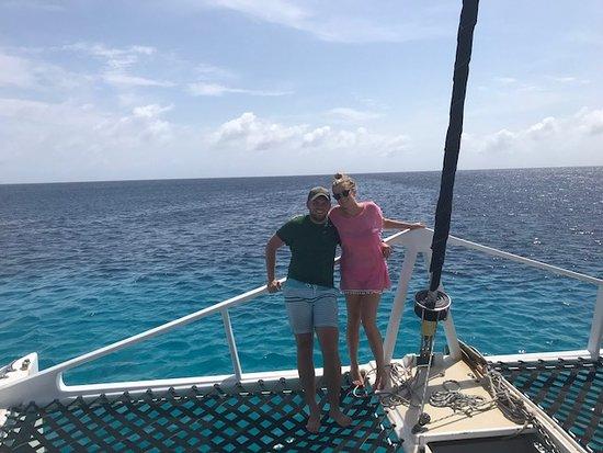 Onboard the Jonalisa To - Bounty Adventures.