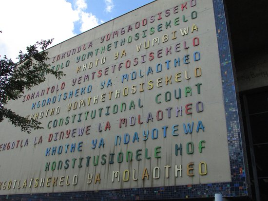 Constitution Hill: various languages and dialects spoken in SA