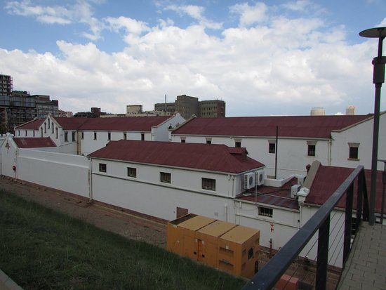 Constitution Hill: barracks