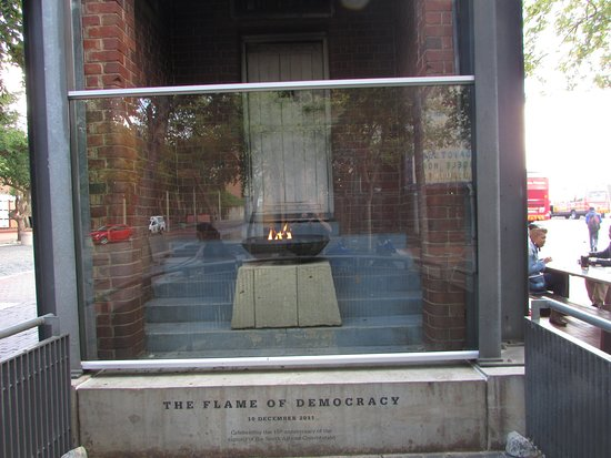 Constitution Hill: the eternal flame of democracy