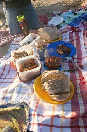 Backyard Tours : Delicious picnic