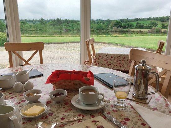 Dunmanway, Ирландия: Breakfast area