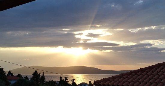 Steni Vala, Greece: view from my balcony