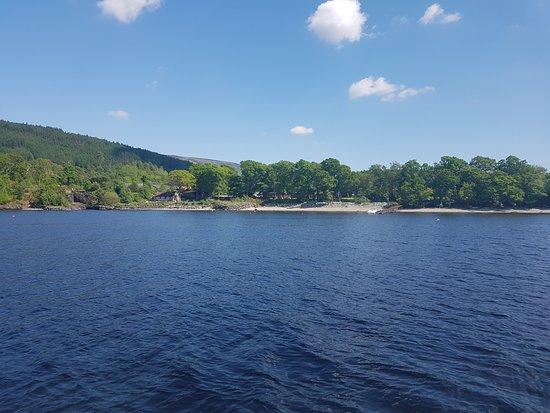 Rowardennan Hotel: view from the Loch