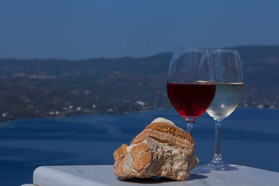 Edipsos, Greece: WINE TASTING