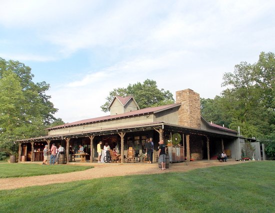 Candler, Carolina del Norte: The Barn for events from another view