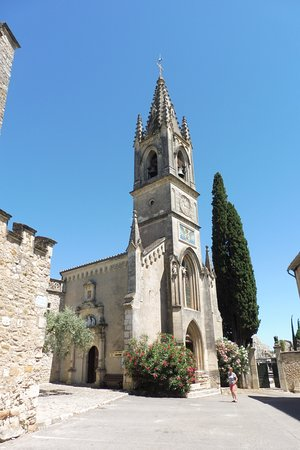 Aigueze, France: eglise