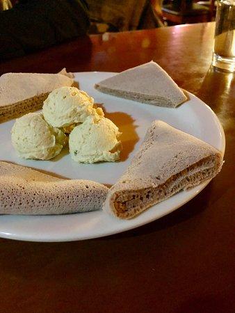 Enssaro: Ethiopian food