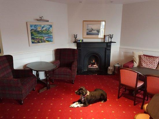 Renvyle, Ireland: Lounge area